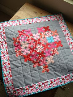 Cross stitch Hearts. by AngelaGreenwald, via Flickr