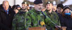 """Il Comandante in capo dell'Esercito svedese: """"prepariamoci a una guerra"""""""