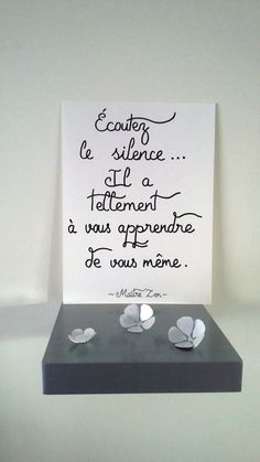 """affiche citation """" Maître zen """" : Affiches, illustrations, posters par stefebricole"""