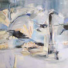 "Saatchi Art Artist: Katherine Gache; Acrylic 2009 Painting ""nine eleven"""