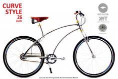 Aoi Cycle unusual bike frame