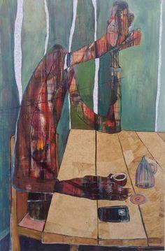 "Saatchi Art Artist Ilya Volykhine; Painting, ""Never Alone, 2015"" #art"