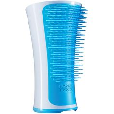 Tangle Teezer Aqua Splash Detangling Brush, Blue Lagoon 1 ea (£13) ❤ liked on Polyvore featuring beauty products, haircare, hair styling tools, brushes & combs, detangle hair brush, detangle brush, detangling hair brush, tangle teezer hairbrush and hair brush comb