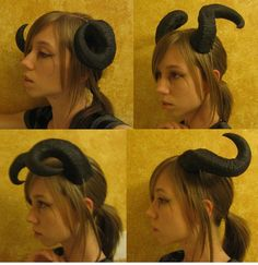 Horns Demonic - Google Search   I need these in my life... or a woman who's willing to rock them around town...
