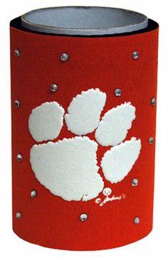 NCAA Clemson Tigers Koozie Rhinestones Game Day Outfitters http://www.amazon.com/dp/B008C2E0B8/ref=cm_sw_r_pi_dp_ifheub1D76W4P