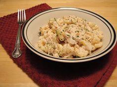 Christine's Pantry: Tuna Pasta Salad