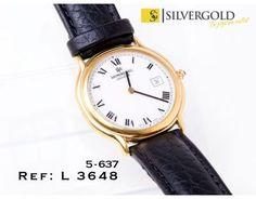 1-5-637-3-R-Raymond Weil Geneve correa de cuero negra L3648 Raymond Weil, Bracelet Watch, Watches, Bracelets, Leather, Accessories, Clocks, Gold, Wristwatches