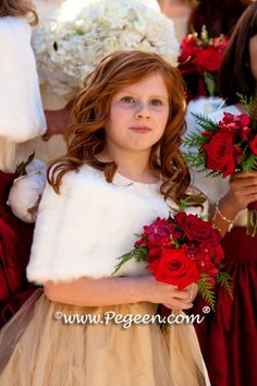 Flower Girl Dresses of the Year for 2010 by Pegeen