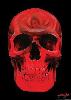 ☆ Artist Gerrard King ☆ skullspiration.com/12-skull-art-prints-by-gerrard-king/