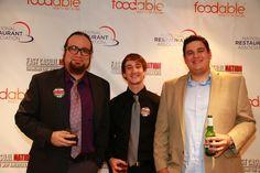 FoodableVideo Editor Carlos J. Ruiz, Sound Engineer Steve Zimmerman & Director of Photography Nathan Mikita