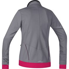 GORE BIKE WEAR Womens Element Lady Windstopper Soft Shell Jacket Asteroid GreyJazzy Pink XLarge * See this great product. (Amazon affiliate link)