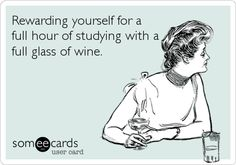 Studying incentive.