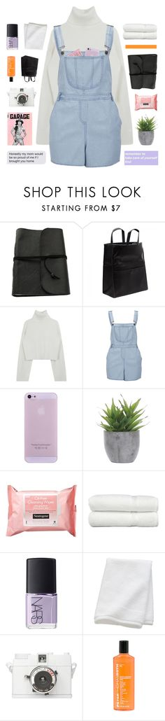 """good life"" by flying-baby-unicorn ❤ liked on Polyvore featuring Maison Margiela, Influence, Lux-Art Silks, Neutrogena, Linum Home Textiles, NARS Cosmetics, CB2 and Peter Thomas Roth"
