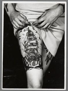 Amsterdam Tattoo Museum: old style