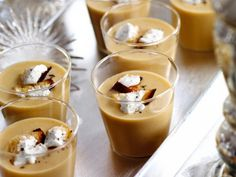 Ted Allen's White-Bean Soup Shooters with Bacon