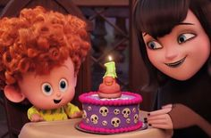 Hotel Transylvania 2 - Official Trailer Adam Sandler, Selena G. Hotel Transylvania Party, Hotel Transylvania 2 Movie, Disney Pixar, Disney Movies, Disney Characters, Selena Gomez Movies, Birthday Cake With Photo, Halloween Movies, Halloween Birthday