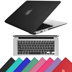 Hard Rubberized Shell Case Keyboard Cover Skin For Laptop Macbook Air 13 A1369 #UnbrandedGeneric