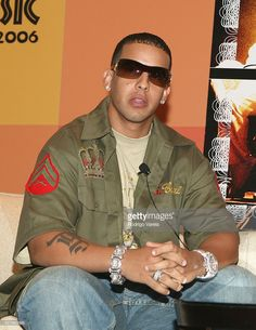 Daddy Yankee during 2006 Billboard Latin Music Conference & Awards - Daddy Yankee Q & A - April 26, 2006 at Ritz Carlton Hotel in Miami Beach, Florida, United States.
