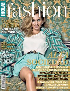 ¡HOLA! Fashion (Noviembre 2014) En portada: Andrea Pascual #fashioncover #fashionmagazine