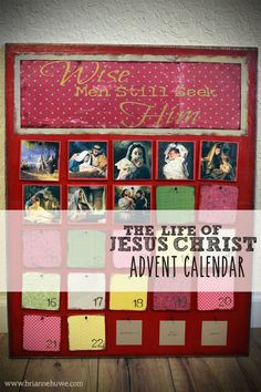 I love advent calendars almost as much as I love Christmas. One of my favorite childhood Christmas traditions was putting the little ornaments on our advent calendar. It served to feed my excitemen...