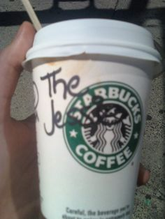 i went to the starbucks on 16th & 1st so often they named a drink after me.