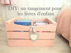 DIY: un rangement pour les livres organization book www.mon-carnet-deco.com