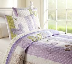 Camille Quilted Bedding #pbkids