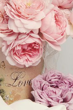 peonies with love...
