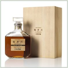 Rare Japanese Whiskies Go On Auction In Hong Kong: Karuizawa 1965 21-year-old single-malt whisky #whisky