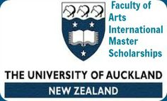 Faculty of Arts International Master Scholarships and applications are open until 1 November 2014.University of Auckland is offering up to five masters degree scholarships for international students. Each Scholarship will be awarded for a period of one year and will be of the value of up to $10,000 per annum.