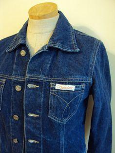 Vintage 90s Calvin Klein Designer Denim Jean by nanapatproject, $32.00