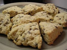 You're Gonna Bake It After All: Chocolate Chip Scones