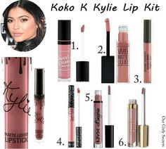 Dupes Koko K Kylie Lip Kit