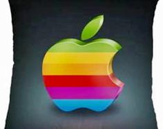 * ALMOFADA POP ART - APPLE