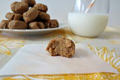 Peanut Butter Cookies - A rick, thick, sweet, gluten-free cookie made with natural peanut butter and cashews.