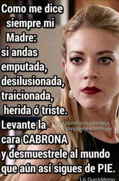49 Best Para La Mujeres Cabronas Images Spanish Quotes Quotes