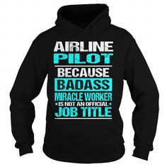Make this awesome proud Pilot:  Airline Pilot as a great gift Shirts T-Shirts for Pilots