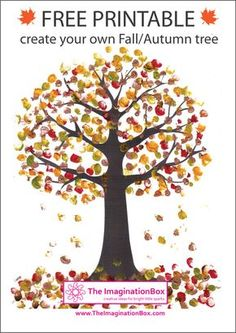 Print this free Tree Template from The ImaginationBox to create ...