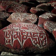 Tibet Mantra Stones