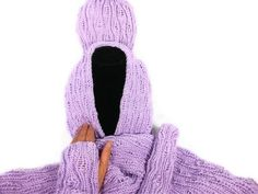 This artisan doesn't know what her hand knitting is worth!  Grap it quick b4 she realizes she's underpricing her talents!  Knitted Orchid Scarf Hat and Wristlet Set | craftingmemories - Knitting on ArtFire