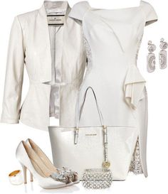 White elegant (for day and night)