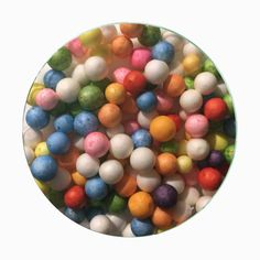A super clicky, glossy, & stretchy slime with lots of jumbo soft beads! gives it a 'creamy' texture & makes amazing creamy sounds. super soft & makes nice air bubbles! 8 ounces