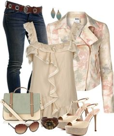 Summer and Spring Outfit Combinations 2019 Outfits 2016, Spring Outfits, Classy Outfits, Cute Outfits, Look Fashion, Fashion Outfits, Fashion Ideas, Runway Fashion, Looks Jeans