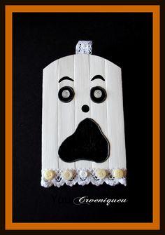 Halloween, ghost, school, iskola, szellem, spatula, akril Spatula, Halloween, Handmade, Hand Made, Spooky Halloween, Handarbeit