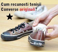 Cum recunosti tenisii #Converse originali | Outlet online