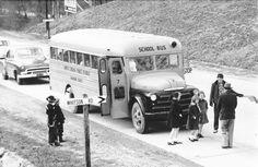 Public School, School Buses, High School, Starlite Drive In, Blue Ridge Mountains, Asheville Nc, North Carolina, County Schools, Trucks
