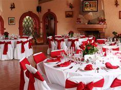 Una boda en color rojo / La boda de Lilly y Luis en Toluca