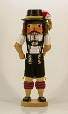 Bavarian Boy Folk Dancer Oktoberfest German Christmas Nutcracker