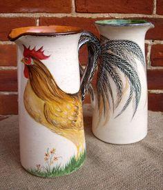 lovely vintage pitchers