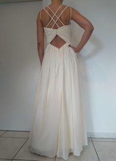 d6756cd90557b7 Ungetragen* #Hochzeitskleid, creme, Gr. 36. Sina Schurr · Abendkleid /  Hochzeitskleid. Kleiderkreisel